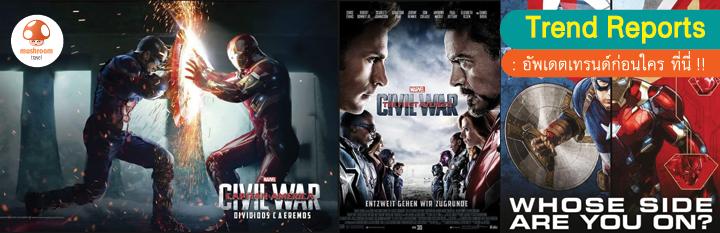 เที่ยวตามรอย Captain America: Civil War