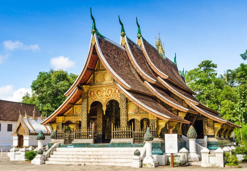 Laos Travel Pictures: Vientiane, Luang Prabang, Phonsavanh ... |Wat Xieng Thong Luang Prabang