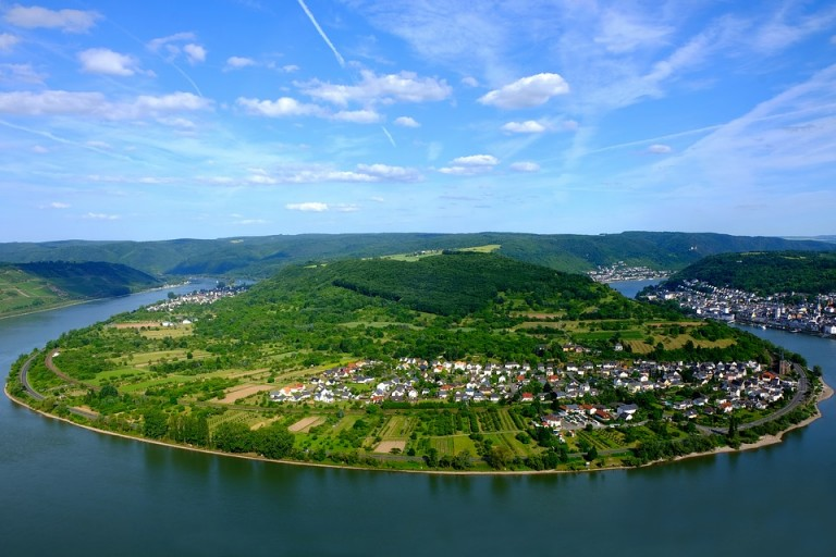 Rhine Gorge German
