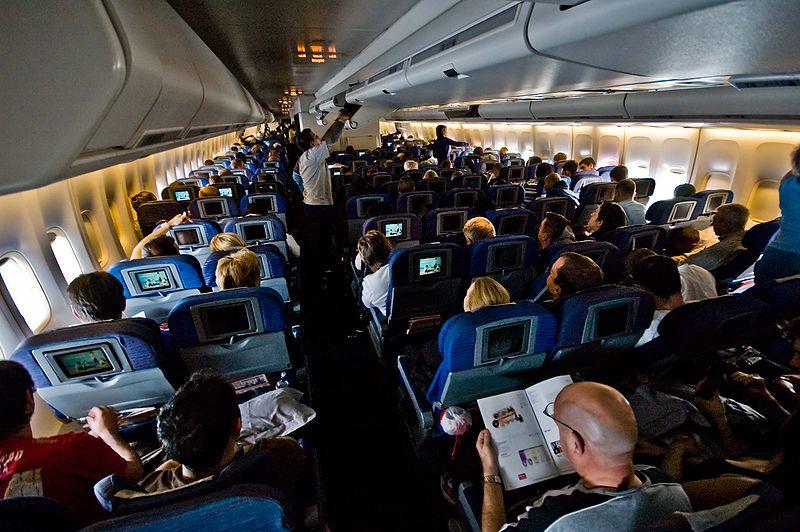การเลือกที่นั่งบนเครื่องบิน