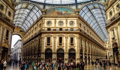 ผลการค้นหารูปภาพสำหรับ กรุงมิลาน(Milan)  อาคารแกลเลอเรีย วิคตอริโอ เอมานูเอล 2 (Monument of Vittorio Emanuele II)