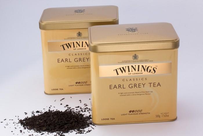Tea Tins Earl Gray Black Tea Tee Twinings Of London