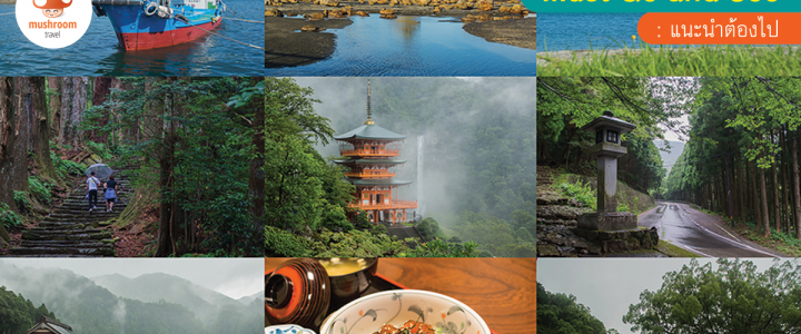 Kansai The Series – NachiSan / WAKAYAMA – ออกตามหาเจดีย์สีแดงริมน้ำตกในไอหมอก