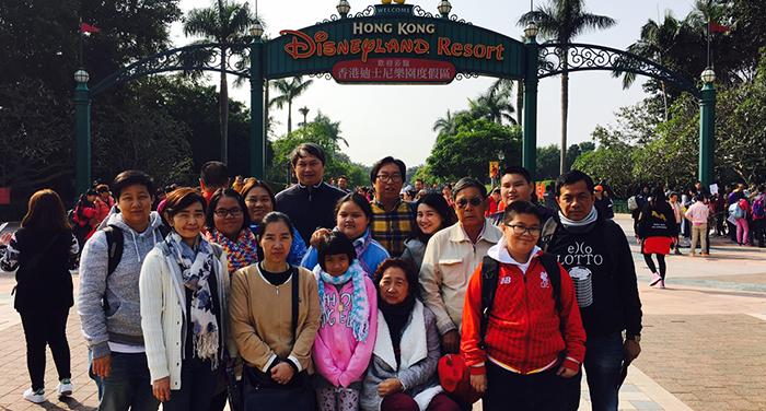 กรุ๊ปส่วนตัว ครอบครัว เที่ยวฮ่องกง ดิสนีย์แลยนด์ 3 วัน 2 คืน วันที่ 11-13 Feb 17