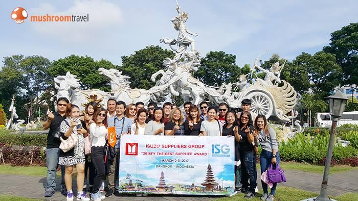 กรุ๊ป Isuzu Motors ทริปบาหลี วันที่ 2 – 5 มี.ค. 2560