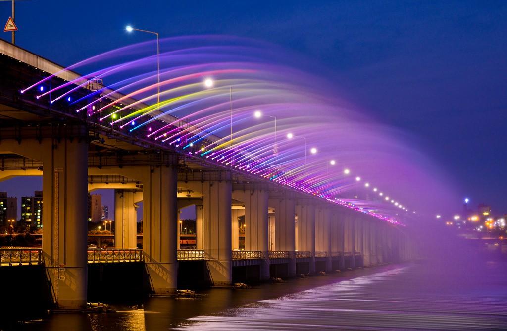 สะพานน้ำพุสายรุ้งบันโพ