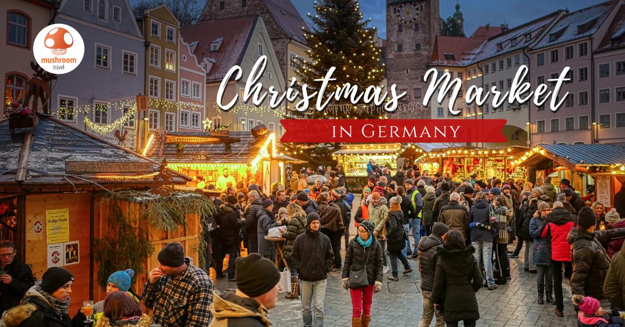 ตลาดคริสต์มาส เยอรมัน