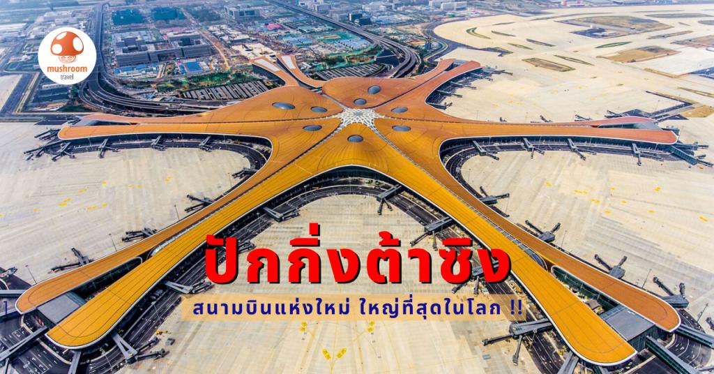 """ทำความรู้จัก """"ปักกิ่งต้าซิง"""" สนามบินใหม่ปักกิ่ง ที่ใหญ่ที่สุดในโลก!"""